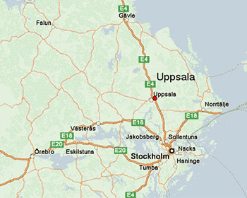 Uppsala location