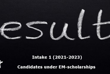 emPLANT+ Selection results, intake 1, scholarships, Erasmus Mundus